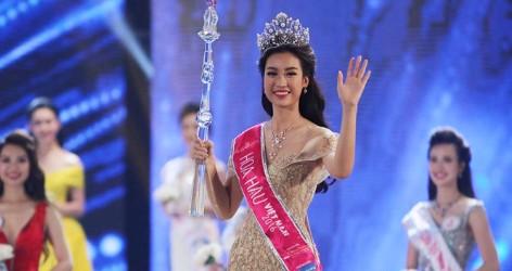 Đỗ Mỹ Linh đăng quang cuộc thi Hoa hậu Việt Nam 2016!