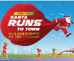 Family run – Santa run to town